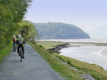 Mawddach trail wales Royalty Free Stock Photography