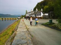 Mawddach trail wales Royalty Free Stock Images