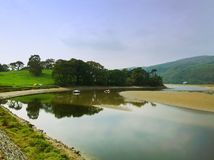 Mawddach trail wales Royalty Free Stock Photos