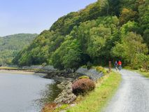 Mawddach trail wales Stock Image