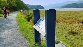 Mawddach trail wales Royalty Free Stock Photo