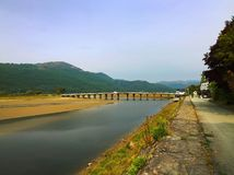 Mawddach trail wales Stock Photography