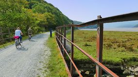 Mawddach trail wales Stock Photo