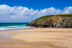 Mawgan Porth Newquay Cornwall Royalty-vrije Stock Fotografie