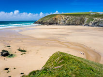 Mawgan Porth Newquay Cornwall Royalty Free Stock Images