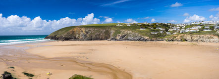 Mawgan Porth Newquay Cornwall Royalty Free Stock Photo