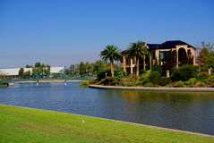 Mawson Lakes Industry & Residential Stock Image