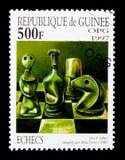 Max厄恩斯特棋, serie,大约1997年 免版税库存图片