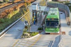 MAX Autobusowy Błyskawiczny transport Obraz Royalty Free