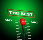 Max Best Shows Upper Limit y techo Fotos de archivo