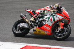 Max Biaggi Aprilia RSV4 Aprilia Racing Team Stock Photography