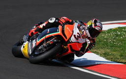 Max Biaggi ITA Aprilia Racing Team Imola SBK 2012 Photos stock