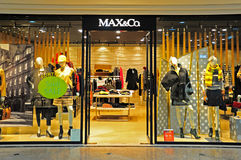 Max&co boutique, hong kong Royalty Free Stock Photo