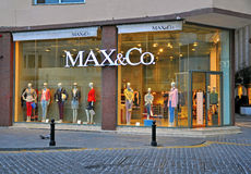 Max&Co store in Malta Stock Photos