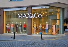 Max&Co store in Malta Stock Photos