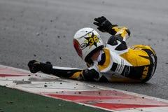 Max ENDERLEIN (Moto 3) Fotografia de Stock