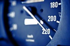 max hastighet Royaltyfri Foto