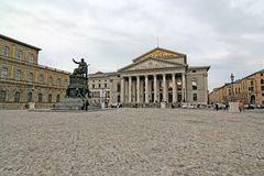 Max-Joseph Platz, Munich Royalty Free Stock Images