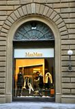 Max Mara fashion store  Stock Photo
