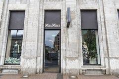 Max Mara sklep w Dusseldorf, Niemcy Zdjęcie Royalty Free