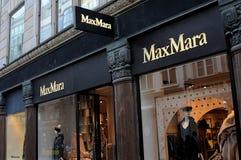 MAX MARA sklep W KOPENHAGA obraz royalty free
