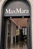 Max Mara-Speicher Stockbild
