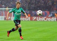 Max Meyer durante o jogo da liga de campeões de UEFA Fotografia de Stock