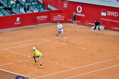 Max Mirnyi and Horia Tecau Royalty Free Stock Images