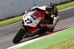Max Neukirchner #27 on Ducati 1199 Panigale R MR-Racing Superbike WSBK Stock Photography