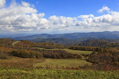 Max Patch Bald in North Carolina Stock Image