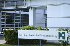 Max-Planck-Institute for Polymer Research Stock Photo