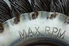 Max rpm Royalty Free Stock Photography