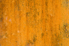 Max Rust. A metal garbage container covered in rust from years of oxidation royalty free stock photo