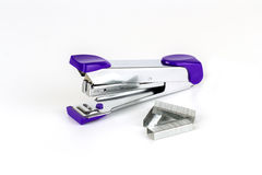 Max stapler on white background Royalty Free Stock Photography