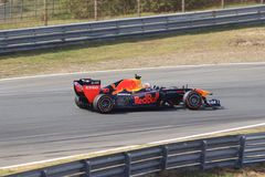 Max Verstappen formu?a jeden obwodu samochodowy zandvoort zdjęcia stock