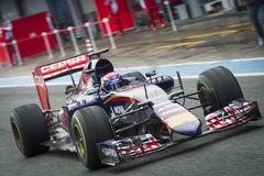 Max Verstappen Jerez 2015 Zdjęcia Royalty Free