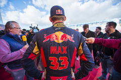 Max Verstappen Jerez 2015 Zdjęcie Royalty Free