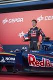 Max Verstappen Jerez 2015 Zdjęcia Stock
