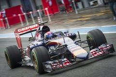Max Verstappen Jerez 2015 Royalty Free Stock Photos