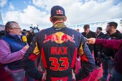 Max Verstappen Jerez 2015 Royalty Free Stock Photo