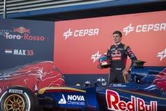 Max Verstappen Jerez 2015 Stock Photos