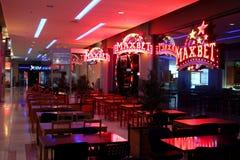 Maxbet-elektronische het gokken zaal Royalty-vrije Stock Foto's