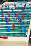 Maxi calcio-balilla della tavola Immagine Stock Libera da Diritti