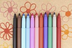 Maxi feutre multicolore Image libre de droits
