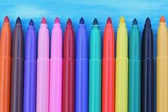 Maxi feutre multicolore Photographie stock