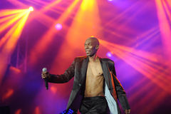 Maxi Jazz - Faithless Stock Photography