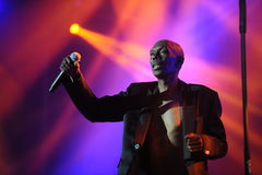 Maxi Jazz - Faithless Stock Image