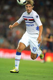 Maxi Lopez of UC Sampdoria Royalty Free Stock Image