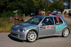 Maxi Peugeot 106 Arkivfoto