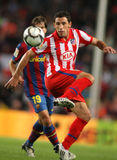 Maxi Rodriguez. Argentinian player Maxi Rodriguez during Spanish league match between Barcelona vs Atletico de Madrid at the New Camp Stadium in Barcelona on Stock Image